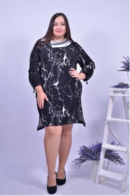 Сукня трикотажна повсякденна супер батал