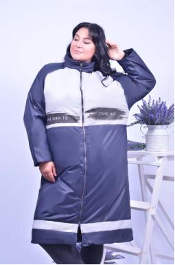 Стильне пряме пальто