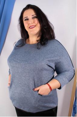 Блуза тепла супер батал
