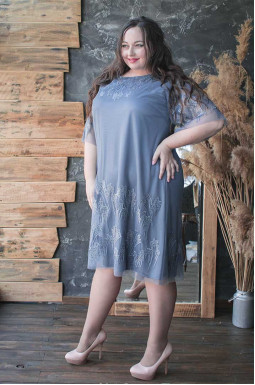 Сукня святкова ніжна шифонова