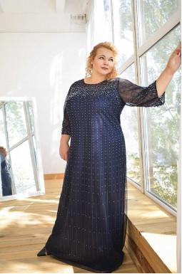 Сукня довга святкова супер батал