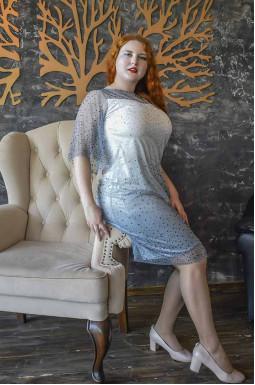 Сукня святкова з камінням
