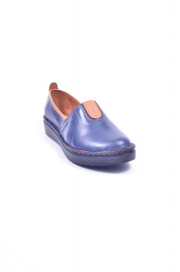 Туфли кожаные закрытые больших размеров