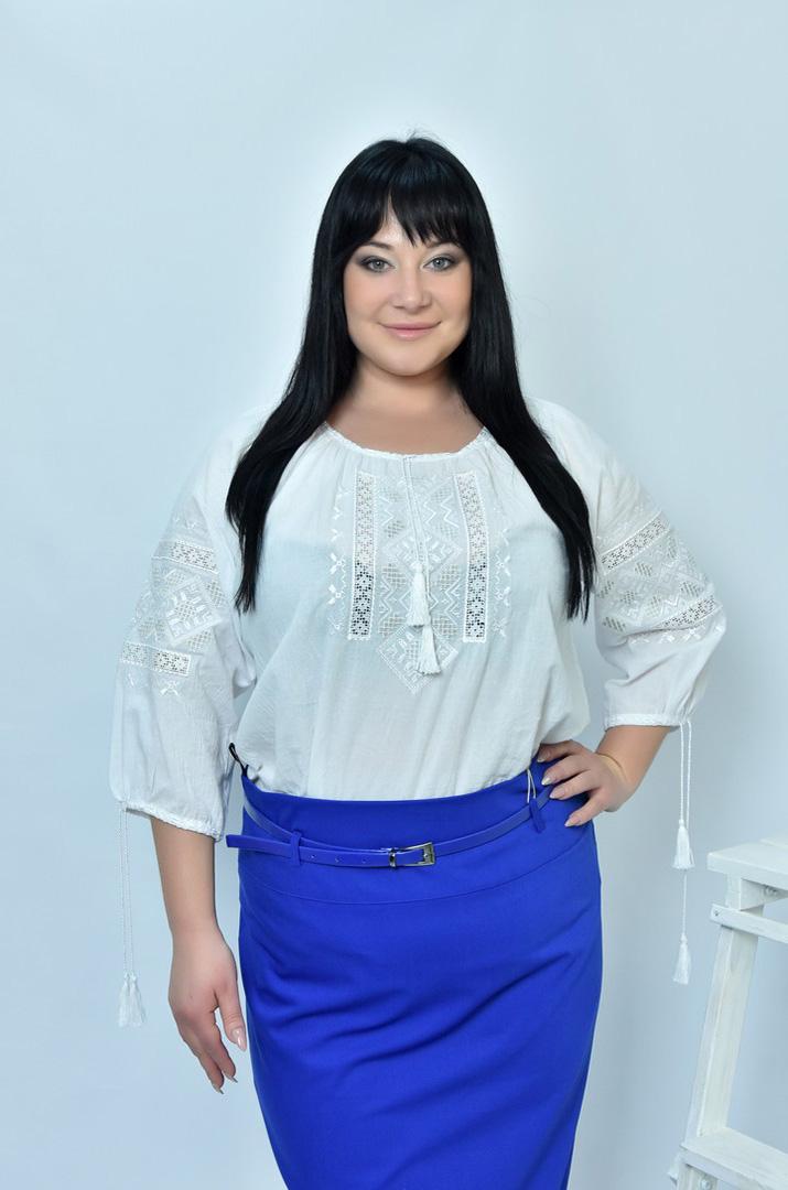 Блузки вишиванки великого розміру - інтернет-магазин Пишна Краса