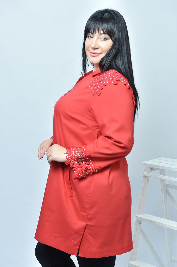 Жіночі туніки великих розмірів в інтернет-магазині Пишна Краса