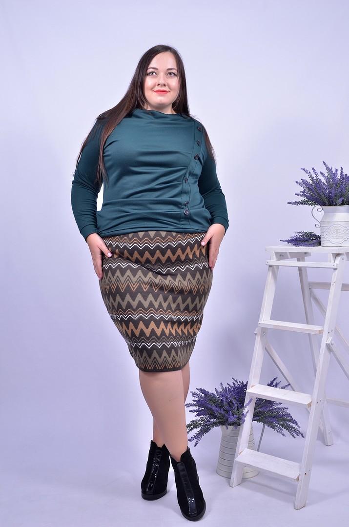 Короткі спідниці великих розмірів в інтернет-магазині Пишна Краса